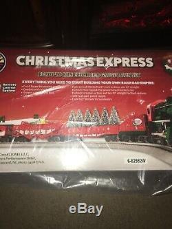 Ensemble De Train Lionel Christmas Express - Nib À Denture Bleue
