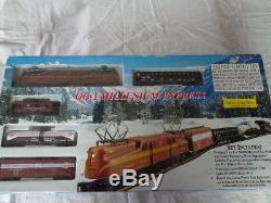 Ensemble De Train Personnalisé Pennsylvania Prêt À Fonctionner, Échelle Ihc Gg-1 Millenium Express Ho
