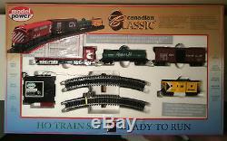 Ensemble De Trains Ho Prêt À Fonctionner Modèles Canadiens Classiques Chemins De Fer Cn Rail Home Lighted
