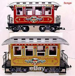 G Échelle G Gauge Lgb 72326 Le Neiman Marcus Christmas Train Ready To Run Nob