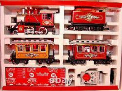 G Échelle G Jauge Lgb 72326 Le Neiman Marcus Train De Noël Prêt À Fonctionner Nob