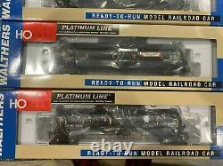Ho Train Scale Walthers Voiture De Chemin De Fer Prête À Courir. 12 Pack Set Nouveau Dans La Boîte