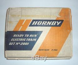 Hornby Dublo 2001 Coffret Démarreur De Train Électrique
