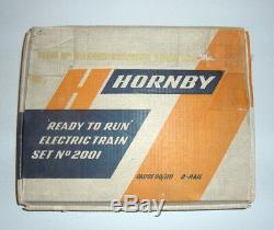 Hornby Dublo 2001 Prêt À Fonctionner Set De Démarrage De Train Électrique Rare