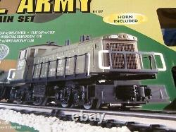 K Line Us Army Train Set Complet Ready To Run With Super Snap Track - Transformer