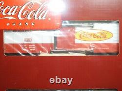 K-ligne O Définir L'échelle De Quatre K-515002a Coca-cola Boxcars Nouveau Prêt À Fonctionner