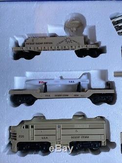 K-line K-1125 Storm Opération Desert Prêt À Run Train Set Avec Piste + Transform