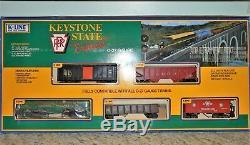 K-line Keystone Etat Express Set Avec 4 Voitures Pretees Pour La Course