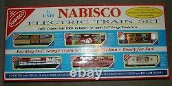 K-line Nabisco No. 1522 Prêt À Courir 6 Unité Électrique O27 Train Set Mint Unrun