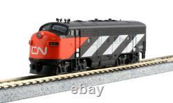 Kato 1060425dcc N Emd F7a + B Ensemble National Canadien #9080 + 9057 Avec Prêt À Courir