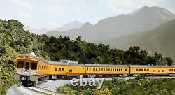 Kato USA Inc Up Excursion Train 7-car Lighted Set Prêt À Courir