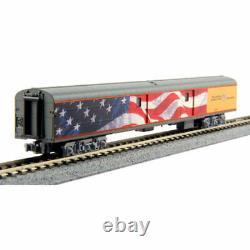 Kato-union Pacific Excursion Train Lighted 7-car Set Prêt À Courir - Union Pac