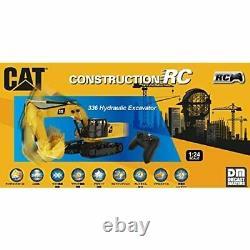 Kyosho 1/24 Rc Cat Équipement De Construction 336 Excavateur Set Prêt Rtr 56622