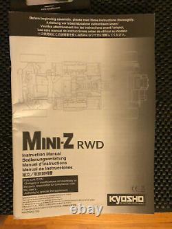 Kyosho 32324wr Mini-z Rwd Series Ready Set Rtr Mclaren Avec Gyro, Light Kit, Cônes