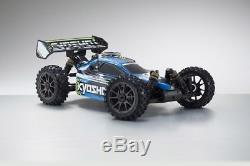 Kyosho Inferno Neo 3.0 4rm Buggy Readyset T1 2.4ghz Bleu Rtr 18 K. 33012t1