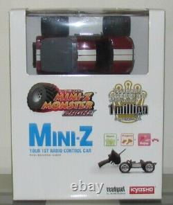 Kyosho Mini Z Monstre Mm-01 Readyset Rtr, Dodge Ram 1500 Rot, Neu U. Unbespielt