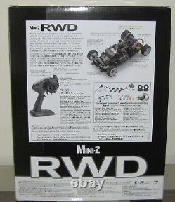 Kyosho Mini Z, Mr03 Rwd Readyset Rtr, Chevrolet Corvette Zr1 Orange (w-mm), Neu