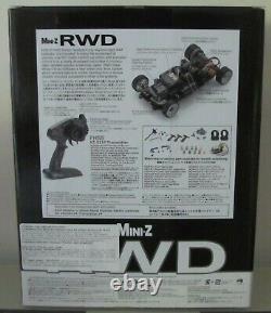 Kyosho Mini Z, Mr03 Rwd Readyset Rtr, Mercedes Amg Gt3 (w-mm), Neu + Ungeöffnet