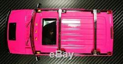 Kyosho Mini-z Overland Mv01 Hummer H2 Femme Rose 2wd Kt19 Rc Ready Set