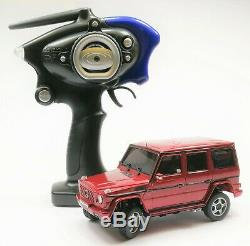 Kyosho Mini-z Overland Mv01 Mercedes G55l Ready Set Rg 2rm Kt19 Rc
