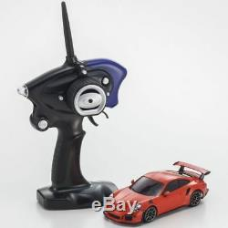 Kyosho Mini-z Rc Porsche 911 Gt3 Rs Orange Mr-03 32231or Rtr Ready Set Mini Z