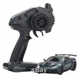 Kyosho Mini-z Rwd Chevrolet Corvette Zr1 Gris Ready Set Rtr 4548565365456