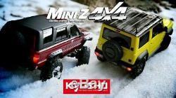 Kyosho Rc Mini Z 4x4 Jaune Jimny Sierra Ready Set Rtr Mx-01