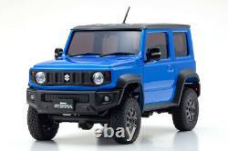 Kyosho Rc Mini Z 4x4 Jimny Sierra Bleu Métallisée Ready Set Rtr Mx-01
