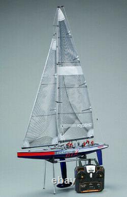 Kyosho Rc Sail Boat Fortune 612 Set Prêt -rtr- 2.4ghz