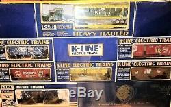 La Ligne De Train Diesel K-line Proctor & Gamble Sw Est Prête À Rouler K-1990