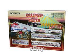 Les Trains Bachmann # 749 Ho Sont Prêts À Fonctionner Le Plus Grand Spectacle Du Monde
