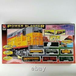 Life-like Trains Électriques Power Blaster Ho Géant Prêt À Exécuter L'installation Scellé En Usine