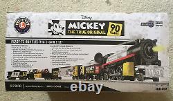 Lionel 1823050 Disney Mickey Le Véritable Original Prêt-à-courir O-gauge Ensemble