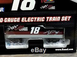 Lionel # 18 Kyle Busch Nascar Train T1828rrmmkb O Calibre Prêt À Fonctionner Moulé Sous Pression