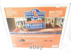 Lionel 21969 Village Trolley 027 Train Set- Ready To Run Boxed- Ln -sh