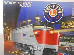 Lionel 30029 Amtrak Coast Limitée Prêt-à-run Train O Gauge Lumières Et Sons