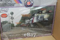 Lionel # 30185 Nj Transit Prêt-à-run Limited Edition Entretien De Voies Set