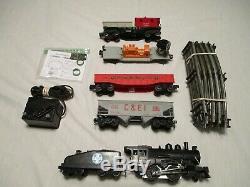 Lionel 4 Travailler Voiture Train, Complet Et Prêt À Exécuter L'installation. 027 Échelle. Excellent