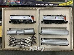 Lionel 6-11707 Coffret De Départ Prêt À Fonctionner, Amtrak Silver Spike, 1988 C10