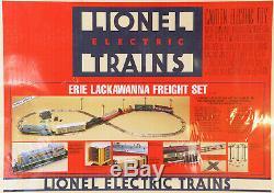 Lionel 6-11726 Coffret De Départ Fret Prêt À L'emploi Erie Lackawanna 1991 C10