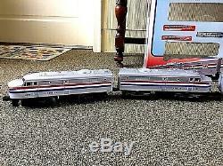 Lionel 6-11748 Complet Prêt À L'emploi Amtrak Set & 6-18937 Amtrak Non-powered Fa