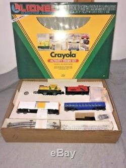 Lionel 6-11813 Ensemble De Train D'activités Crayola Complet Et Prêt À L'emploi