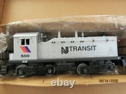 Lionel 6-11828 New Jersey Transit Passagers Prêt-à-run Starter Set 1996 Nouveau