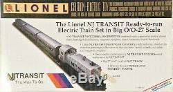 Lionel 6-11828 Set De Démarrage Prêt À Fonctionner Pour Passagers Du New Jersey Transit 1996 C10