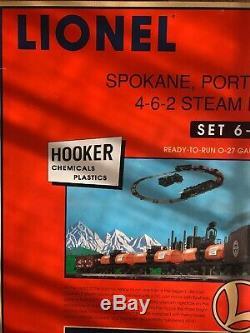 Lionel 6-11839 Coffret De Wagons Citernes Hooker - Prêt À Fonctionner, Piste / Trans O27 Mib