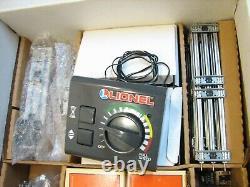 Lionel 6-11921 O-27 Ensemble De Train Électrique Prêt À Rouler Avec Boîte De Voiture Supplémentaire 1113ws