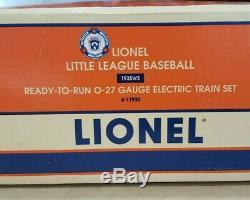 Lionel 6-11935 O27 Gauge Petite Ligue De Baseball Ready To Run Train Marque Nouveau