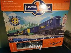 Lionel 6-11972 Alaska Rr Prêt-à-courir Groupe De Trains De Marchandises Diesel 0-027 Boîte Ouverte