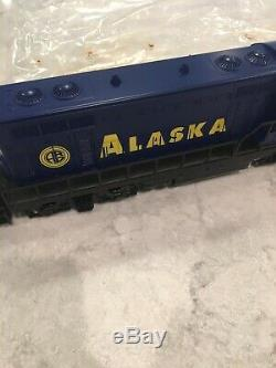 Lionel 6-11972 Le Chemin De Fer De L'alaska Prêt À Fonctionner, Un Train De Marchandises Diesel 0-27