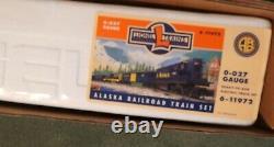 Lionel 6-11972 O/027 Alaska Railroad Ready To Run Train Ensemble. Menthe Dans La Boîte